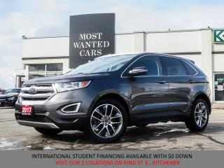 Used 2017 Ford Edge Titanium AWD |LEATHER|NAV|CAMERA|REMOTE START for sale in Kitchener, ON