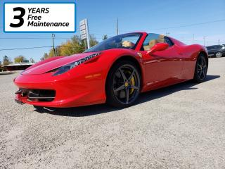 Used 2015 Ferrari 458 Spyder **Clean Low K, Highway K Only** for sale in Smiths Falls, ON