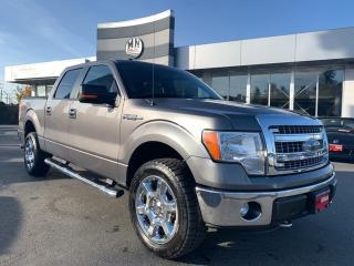 Used 2014 Ford F-150 XLT XTR 4WD 5.0L V8 20' WHEELS REAR CAMERA for sale in Langley, BC