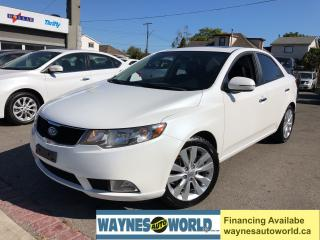 Used 2011 Kia Forte EX w-Sunroof*Leather*Heated Seats*Bluetooth* for sale in Hamilton, ON