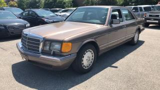 Used 1991 Mercedes-Benz S-Class 4dr Sedan 300SE for sale in Mississauga, ON