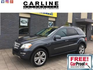 Used 2011 Mercedes-Benz ML-Class 4MATIC 4dr 3.0L BlueTEC for sale in Nobleton, ON