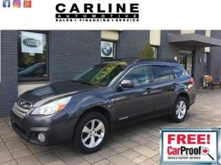 Used 2014 Subaru Outback 5dr Wgn Auto 3.6R w/Limited & EyeSight Pkg for sale in Nobleton, ON