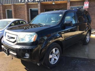 Used 2010 Honda Pilot 4WD EX-L LEATHER SEATS ONTARIO VEHICLE for sale in Brampton, ON