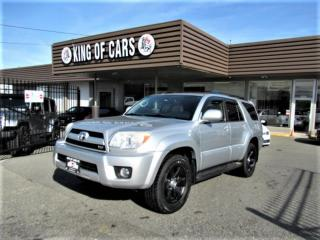 Used 2007 Toyota 4Runner LIMITED 4WD V8 for sale in Langley, BC