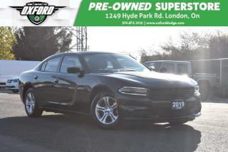 Used 2019 Dodge Charger SXT - GPS, Sat Radio, Parksense for sale in London, ON