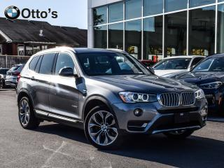 Used 2017 BMW X3 xDrive28i NAV, LEATHER ROOF for sale in Ottawa, ON