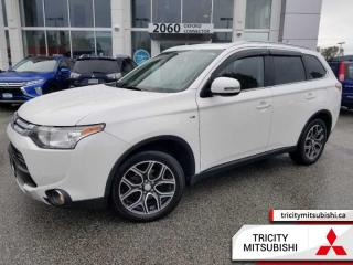 Used 2015 Mitsubishi Outlander GT  NAVI-7 PASSENGER-SUNROOF for sale in Port Coquitlam, BC