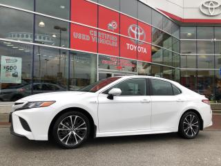 Used 2019 Toyota Camry HYBRID SE CVT for sale in Surrey, BC