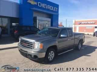 Used 2013 GMC Sierra 1500 SLE  Ext Cab Standard Box 4WD 1SB for sale in Bolton, ON