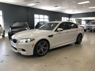 Used 2016 BMW M5 ULTIMATE PACKAGE*WHITE ON RED*LOW KM*BMW WARRANTY* for sale in North York, ON