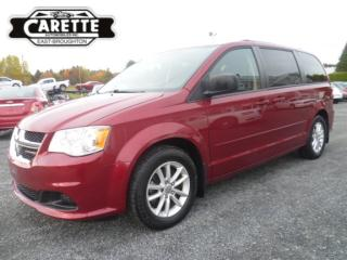 Used 2014 Dodge Grand Caravan Stow n' go sxt tv-dvd for sale in East broughton, QC
