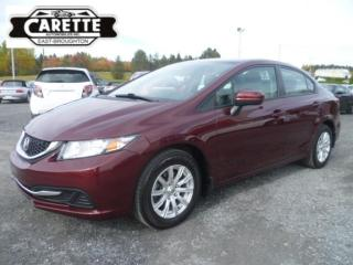 Used 2015 Honda Civic LX for sale in East broughton, QC