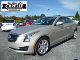 Used 2015 Cadillac ATS 4 awd luxury cuir-toit for sale in East broughton, QC