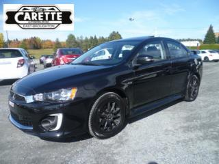Used 2016 Mitsubishi Lancer Limited toit ouvrant for sale in East broughton, QC