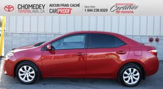 Used 2014 Toyota Corolla LE, automatique for sale in Laval, QC