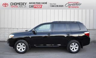 Used 2008 Toyota Highlander SR5, 4X4, 7 PASSAGERS for sale in Laval, QC
