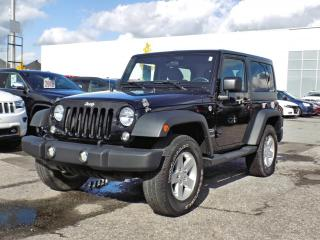 Used 2015 Jeep Wrangler SPORT *AIR CLIM* for sale in Brossard, QC