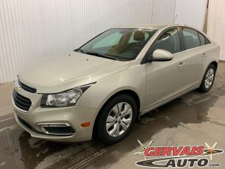 Used 2016 Chevrolet Cruze LT A/C Caméra de recul Bluetooth for sale in Shawinigan, QC