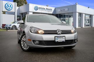 Used 2014 Volkswagen Golf 2.0 TDI Wolfsburg Edition <b>*0% FINANCING UP TO 60 MONTHS* *DIESEL* *LEATHER* *HUGE SUNROOF* *BLUETOOTH* *DSG*<b> for sale in Surrey, BC