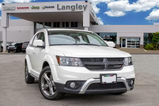 Used 2017 Dodge Journey Crossroad LEATHER AND HEATED SEATS, RIDES COMFORTABLY, for sale in Surrey, BC