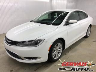 Used 2015 Chrysler 200 Limited A/C MAGS Bluetooth for sale in Trois-Rivières, QC