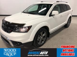 Used 2015 Dodge Journey Crossroad AWD, HEATED LEATHER,NAVI,DVD,SUNROOF... for sale in Calgary, AB