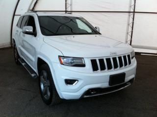 Used 2014 Jeep Grand Cherokee Overland FACTORY REMOTE STARTER, NAVIGATION, PARK SENSE, ALPINE AUDIO for sale in Ottawa, ON
