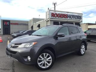 Used 2014 Toyota RAV4 LTD AWD - NAVI - SUNROOF - LEATHER for sale in Oakville, ON
