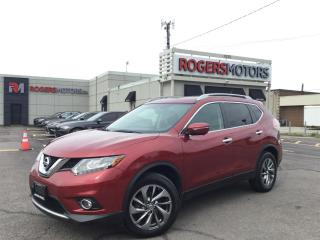 Used 2015 Nissan Rogue SL AWD - NAVI - PANO ROOF - LEATHER for sale in Oakville, ON