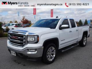 Used 2017 GMC Sierra 1500 SLT  - Leather Seats -  Heated Seats for sale in Kanata, ON