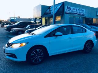 Used 2014 Honda Civic EX PUSH START|CAMERA|SUNROOF|ALLOYS|CERTIFIED for sale in Concord, ON