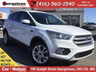Used 2017 Ford Escape SE | AWD | BU CAM | BLU TOOTH | PWR GROUP for sale in Georgetown, ON