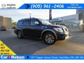 Used 2018 Nissan Armada SL | NAV | LEATHER | SUNROOF | 8 PASSENGER | XM for sale in Hamilton, ON