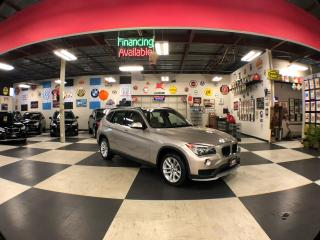 Used 2015 BMW X1 XDRIVE AUT0 AWD NAVI LEATHER 83K for sale in North York, ON