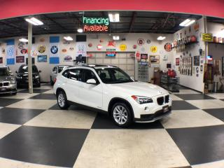 Used 2015 BMW X1 XDRIVE AUT0 AWD LEATHER PANO/ROOF P/SEAT 85K for sale in North York, ON