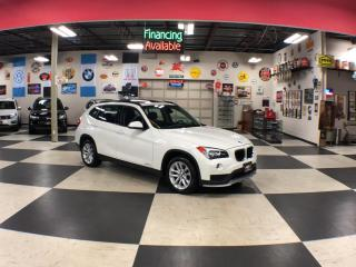 Used 2015 BMW X1 XDRIVE AUT0 AWD LEATHER PANO/ROOF P/SEAT 67K for sale in North York, ON