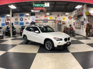 Used 2015 BMW X1 XDRIVE AUT0 AWD NAVI/SPORT LEATHER PANO/ROOF P/SEAT 85K for sale in North York, ON