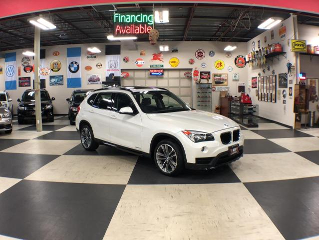 2015 BMW X1 XDRIVE AUT0 AWD NAVI/SPORT LEATHER PANO/ROOF P/SEAT 85K