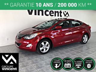 Used 2011 Hyundai Elantra GLS ** GARANTIE 10 ANS ** Bas kilométrage! for sale in Shawinigan, QC