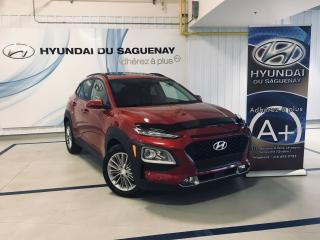 Used 2018 Hyundai KONA LUXUEY/CUIR/TOIT/MAGS GARANTIE for sale in Jonquière, QC