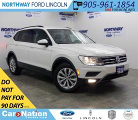 Used 2018 Volkswagen Tiguan Trendline | AWD | HTD SEATS | BACK UP CAM | for sale in Brantford, ON