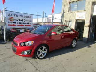 Used 2012 Chevrolet Sonic Berline 4 portes LTZ TURBO Cuir Mags for sale in Montréal, QC