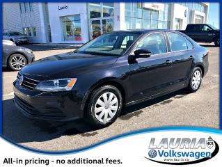 Used 2015 Volkswagen Jetta Trendline+ Manual - Very low kms! for sale in PORT HOPE, ON