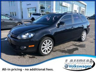 Used 2014 Volkswagen Golf Wagon Highline TDI - 0% Financing for sale in PORT HOPE, ON