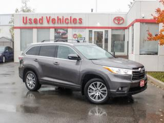 Used 2015 Toyota Highlander AWD 4DR XLE for sale in North York, ON
