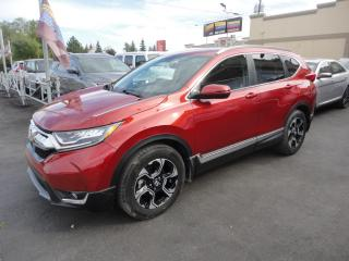 Used 2018 Honda CR-V Touring AWD Turbo Cuir Toit Pano Navi for sale in Laval, QC