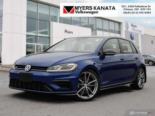 Used 2018 Volkswagen Golf R DSG  - Navigation -  Leather Seats for sale in Kanata, ON