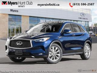 New 2020 Infiniti QX50 ESSENTIAL AWD  - Leather Seats for sale in Ottawa, ON