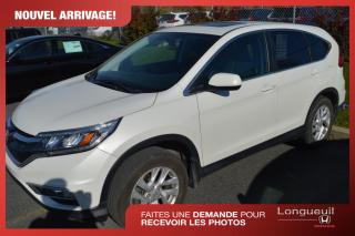 Used 2016 Honda CR-V EX-L ***retour de location*** for sale in Longueuil, QC